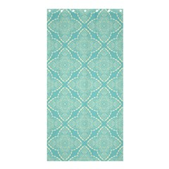 Light Blue Lattice Pattern Shower Curtain 36  X 72  (stall)  by TanyaDraws