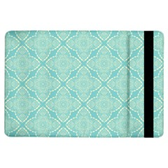 Light Blue Lattice Pattern Ipad Air Flip by TanyaDraws