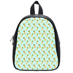 Tropical Watercolour Pineapple Pattern School Bags (small)  by TanyaDraws