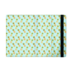 Tropical Watercolour Pineapple Pattern Ipad Mini 2 Flip Cases by TanyaDraws