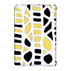 Yellow Decor Apple Ipad Mini Hardshell Case (compatible With Smart Cover) by Valentinaart