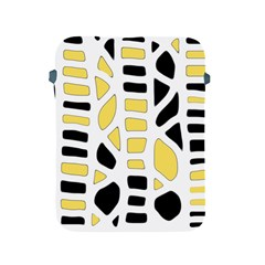 Yellow Decor Apple Ipad 2/3/4 Protective Soft Cases by Valentinaart