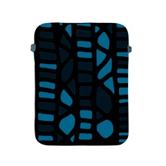 Deep Blue Decor Apple Ipad 2/3/4 Protective Soft Cases by Valentinaart