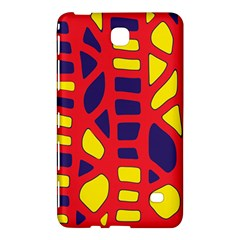 Red, Yellow And Blue Decor Samsung Galaxy Tab 4 (8 ) Hardshell Case  by Valentinaart