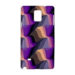 Wavy Pattern                                                                                          			samsung Galaxy Note 4 Hardshell Case by LalyLauraFLM