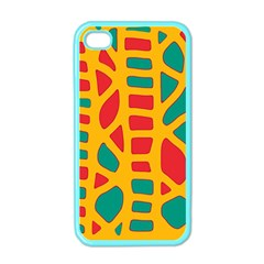 Abstract Decor Apple Iphone 4 Case (color) by Valentinaart