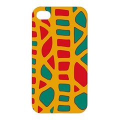 Abstract Decor Apple Iphone 4/4s Hardshell Case by Valentinaart
