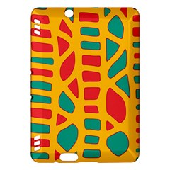 Abstract Decor Kindle Fire Hdx Hardshell Case by Valentinaart