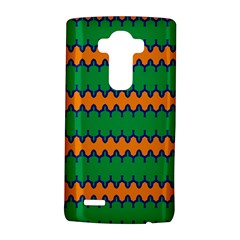 Orange Green Chains                                                                                           			lg G4 Hardshell Case by LalyLauraFLM