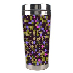 Dots                                                                                             Stainless Steel Travel Tumbler by LalyLauraFLM