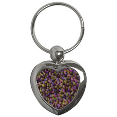 Dots                                                                                             			key Chain (heart) by LalyLauraFLM