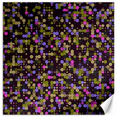 Dots                                                                                             canvas 12  X 12  by LalyLauraFLM