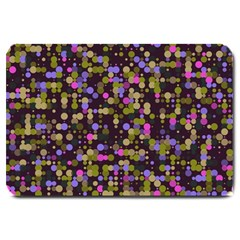 Dots                                                                                             			large Doormat by LalyLauraFLM