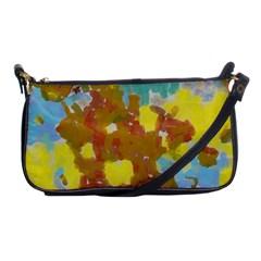 Paint Strokes                                                                                               shoulder Clutch Bag by LalyLauraFLM