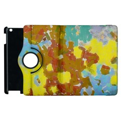 Paint Strokes                                                                                              			apple Ipad 3/4 Flip 360 Case by LalyLauraFLM