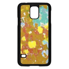 Paint Strokes                                                                                              			samsung Galaxy S5 Case (black) by LalyLauraFLM