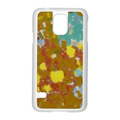 Paint strokes                                                                                              			Samsung Galaxy S5 Case (White) by LalyLauraFLM