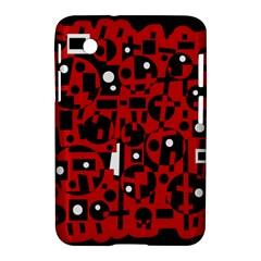 Red Samsung Galaxy Tab 2 (7 ) P3100 Hardshell Case  by Valentinaart