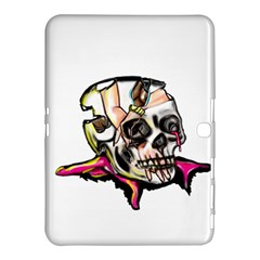 Skull Samsung Galaxy Tab 4 (10.1 ) Hardshell Case  by azureprinceinc