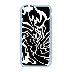Black and white decor Apple Seamless iPhone 6/6S Case (Color) by Valentinaart