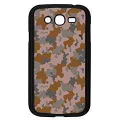 Brown And Grey Camo Pattern Samsung Galaxy Grand DUOS I9082 Case (Black) by artpics