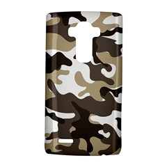 Urban White And Brown Camo Pattern LG G4 Hardshell Case by artpics
