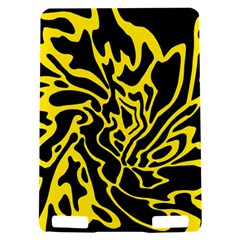 Black and yellow Kindle Touch 3G