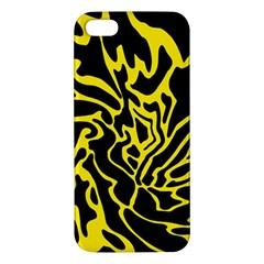 Black and yellow Apple iPhone 5 Premium Hardshell Case