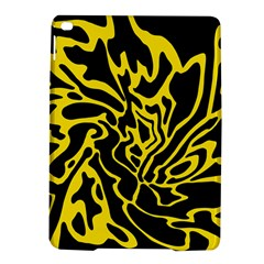 Black And Yellow Ipad Air 2 Hardshell Cases by Valentinaart