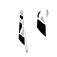 Gray, Black And White Decor Neckties (one Side)