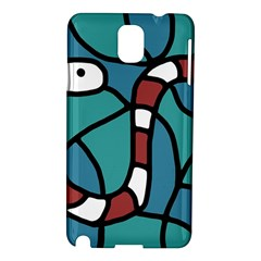 Red snake Samsung Galaxy Note 3 N9005 Hardshell Case