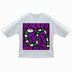 Green Snake Infant/toddler T Shirts by Valentinaart