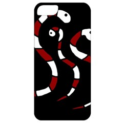 Red Snakes Apple Iphone 5 Classic Hardshell Case by Valentinaart