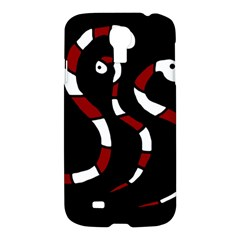 Red Snakes Samsung Galaxy S4 I9500/i9505 Hardshell Case by Valentinaart