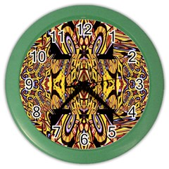 Digital Space Color Wall Clocks by MRTACPANS