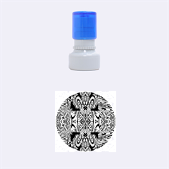 Digital Space Rubber Round Stamps (small) by MRTACPANS