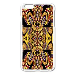 Digital Space Apple Iphone 6 Plus/6s Plus Enamel White Case by MRTACPANS
