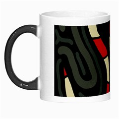 Red Snakes Morph Mugs by Valentinaart