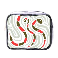 Snakes Family Mini Toiletries Bags by Valentinaart