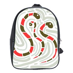 Snakes Family School Bags (xl)