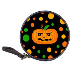 Halloween Pumpkin Classic 20 Cd Wallets by Valentinaart