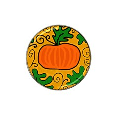 Thanksgiving Pumpkin Hat Clip Ball Marker (4 Pack) by Valentinaart