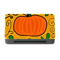Thanksgiving pumpkin Memory Card Reader with CF by Valentinaart