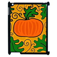 Thanksgiving Pumpkin Apple Ipad 2 Case (black) by Valentinaart