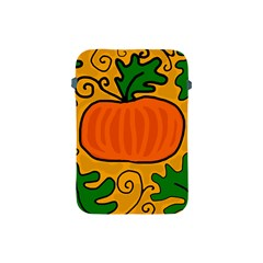 Thanksgiving Pumpkin Apple Ipad Mini Protective Soft Cases by Valentinaart