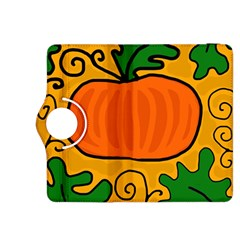 Thanksgiving Pumpkin Kindle Fire Hdx 8 9  Flip 360 Case by Valentinaart