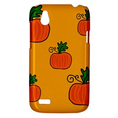 Thanksgiving pumpkins pattern HTC Desire V (T328W) Hardshell Case