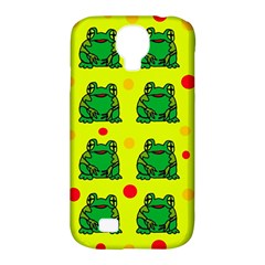 Green Frogs Samsung Galaxy S4 Classic Hardshell Case (pc+silicone) by Valentinaart
