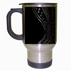 Decorative Guitar Travel Mug (silver Gray) by Valentinaart