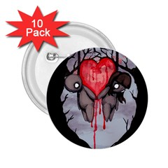 Til Death 2.25  Buttons (10 pack)  by lvbart